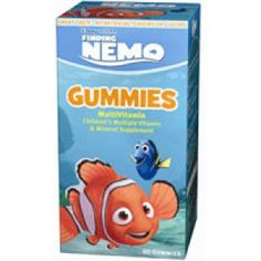 Disney nemo multi vitamin gummies, for children by natures bounty - 60 ea