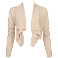 Ribbed Open Cardigan ($23) ❤ liked on Polyvore featuring tops, cardigans, jackets, outerwear, sweaters, women, beige cardigan, shawl collar open front cardigan, ribbed cardigan and forever 21