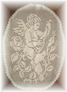angel filet crochet