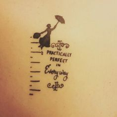 mary poppins tattoo - Google Search