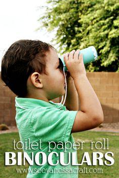 Toilet-Paper-Roll-Binoculars-Kid-Craft