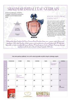 W najnowszym nr 98 2013/2014 z okazji naszego jubileuszu 20-lecia powstania tytułu KOSMETYKA I KOSMETOLOGIA PRZYGOTOWALIŚMY DLA PAŃSTWA PIERWSZY W POLSCE – KALENDARZ Z PERFUMAMI.   TO WYBORNY PREZENT dla przyjaciół, pracowników firm, klientek salonu. Zawiera porady i ciekawostki historyczne z branży perfumeryjnej. Kalendarz można zamówić w redakcji.