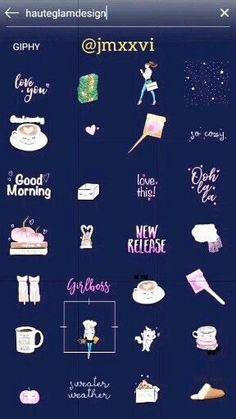 Stickers Instagram, Instagram Emoji, Snapchat Stickers, Instagram Snap, Mood Instagram, Instagram And Snapchat, Instagram Quotes, Instagram Posts, Instagram Schedule