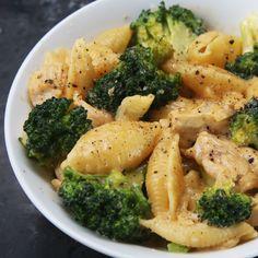 Cheesy Chicken And Broccoli Pasta Recipe by Tasty