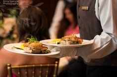 Ritz-Carlton Georgia dinner service
