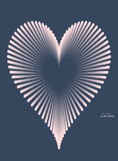 heart coeur herz corazón love art etc. Love Heart Images, I Love Heart, Coeur Gif, Animated Heart Gif, Sushi Love, Love You Gif, Illusion Art, Heart Wallpaper, Beautiful Gif