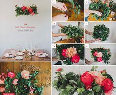 DIY Flower Chandelier – Afloral.com