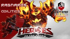 Heroes of the Storm (Gameplay) - Ragnaros Abilities Spotlight (HotS Bliz...
