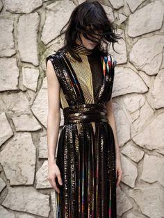 Jamie Bochert for Vogue Turkey March 2014 Styled by Sebastian Kaufmann Photographed by Sofia Malamute