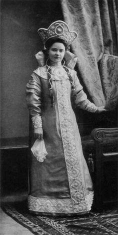 Princess Liubov Nikolaievna Lobanova-Rostovskaya, lady-in-waiting to Grand Duchess Marie Georgievna