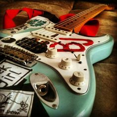 Billie Joe Armstrong's Guitar