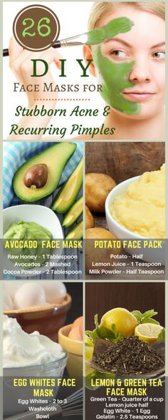 26 Effective DIY Face Masks for Stubborn Acne and Recurring Pimples | Do it yourself