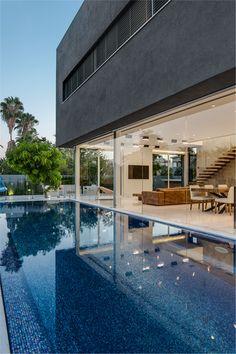 Hidden House pool area