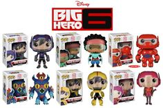 Big Hero 6 Pop Vinyl Figures Announced For October | WDW News Today