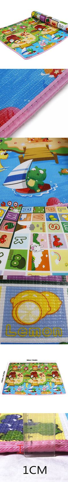 Baby Gyms & Playmats Systematic Cartoon Cotton Children Crawling Mat Sheep Game Mat Round Carpet Childrens Room Decorations