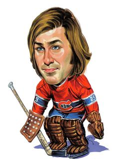 Hockey players, boxers, baseball players, golfers, basketball players etc. Arranged in alphabetical order. Other Caricatures of -lists made by me Hockey Goalie, Hockey Teams, Hockey Players, Montreal Canadiens, Ken Dryden, Hockey Hall Of Fame, Hockey Pictures, Goalie Mask, Thing 1