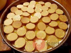 FotoRecept | Broskyňová nepečená torta Food, Essen, Meals, Yemek, Eten