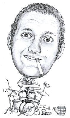A4 Caricature