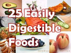 25 Easily Digested Foods and 5 Difficult Ones - Skin Disease Remedies Bland Diet, Bland Food, Best Foods For Skin, Soft Foods, Easily Digested Foods, Dieta Fodmap, Detox Recipes, Healthy Recipes, Free Recipes