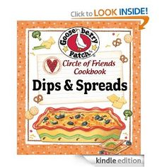 Get Circle of Friends Cookbook - 25 Dip & Spread Recipes FREE today!
