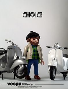 Difficult to choose?!?! Which Vespa would your choose?