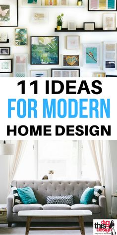 Modern Home Design; 11 Ideas for Your Inspiration - Dig This Design Modern home design evolves and changes quickly, so we want to keep you on top of what the current trends are. Perhaps you already own a home and want . House Design, Home Decor Inspiration, Decor Inspiration, Diy Home Decor, Home, Home Diy, Modern House, Home Decor Styles, Home Decor