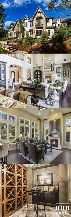 Pinon Soleil offers home buyers beautifully appointed custom Castle Rock homes on 1 acre home sites nestled among 100 year old pines.