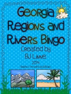 Great way to teach and perfect study guide for Georgia Regions and Rivers unit!
