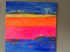 Colourfield landscape