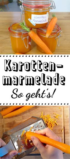 Carrot jam - it's that easy - LECKER Karottenmarmelade - so einfach geht's You are looking for a little something ? Whether you give it away, or to Servierst: About carrot jam will love your loved ones for sure! Desserts For A Crowd, Healthy Dessert Recipes, Healthy Eating Tips, Healthy Nutrition, Brunch, Sunday Dinner Recipes, Vegetable Drinks, Easter Dinner, Easter Recipes