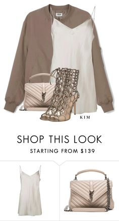 """3"" by kimberlythestylist ❤ liked on Polyvore featuring Beautiful People, Yves Saint Laurent and Gianvito Rossi"