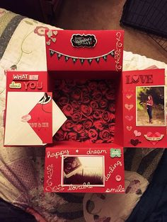 - Valentine's Day deployment care package! Valentine's Day deployment care package! Presents For Girlfriend, Birthday Gifts For Girlfriend, Diy Gifts For Boyfriend, Birthday Presents, Boyfriend Ideas, Crafts For Girlfriend, Girlfriend Surprises, Valentines Day Gifts For Him Boyfriends, Surprise Boyfriend