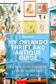 Thrifting is an art form and one of my favorite activities. If you are looking for some of the best shops to hunt vintage treasures these are my favorite thrift stores and antique malls in Orlando and other neighborhoods in Central Florida. Winter Park Florida, Florida City, Florida Travel, Central Florida, Florida Sunshine, Sunshine State, Universal Orlando, Orlando Magic, Orlando Disney