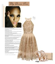 """Prom Do-Over: Your New Dream Dress"" by marion-fashionista-diva-miller ❤ liked on Polyvore featuring Yves Saint Laurent, Chi Chi, Aquazzura, Wrapped In Love, PROMNIGHT, promdoover and prom2016"