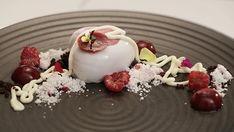 White Chocolate, Berry and Rose Petit Gateau