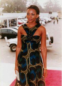 Genevieve Nnaji african clothing