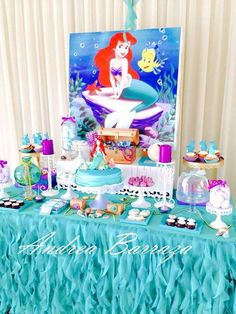 Such a great mermaid birthday party! See more party ideas at CatchMyParty.com!