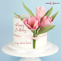 write name on pictures with eNameWishes by stylizing their names and captions by generating text on Free Editable Birthday Cake with Name with ease. Happy Birthday Wishes Cake, Birthday Celebration, Best Christmas Quotes, Christmas Fun, Images For Facebook Profile, Butterfly Birthday Cakes, Cake Name, Name Pictures, Cake Images
