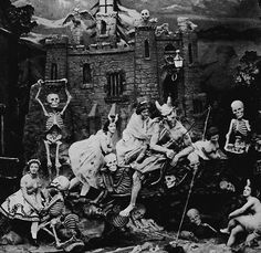 Les Diableries, a series of stereoscopic photographs published in Paris during the 1860s