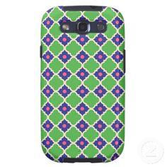Retro Pattern Samsung Galaxys3 Vibe case Samsung Galaxy S3 Cover