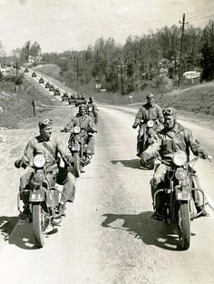WW2 Motorcycles