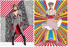 El trabajo de Nikki Farquharson surge de la mezcla de diferentes técnicas: fotomontajes, collages y composiciones visualmente dinámicas y enérgicas