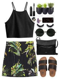 """""""But I guess that you don't know me"""" by annaclaraalvez ❤ liked on Polyvore featuring Proenza Schouler, H&M, Billabong, Michael Kors, Bobbi Brown Cosmetics, Authentics, Zero Gravity and John Hardy"""