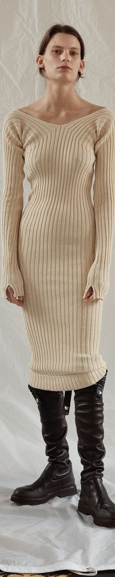 Celin Resort 2017 Sweater Dresses, dress, clothe, women's fashion, outfit inspiration, pretty clothes, shoes, bags and accessories