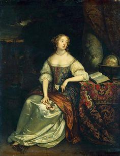 Porträt der Madame de Montespan (?)