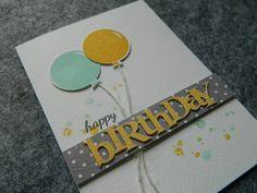 neutral birthday card