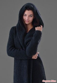 """уютное пальто с капюшоном DARKNESS (""""МГЛА""""). Обсуждение на LiveInternet…"""