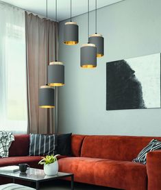 Wood, brown and black flex multiple light pendant. Light Pendant, Pendant Lighting, Modern Hallway, Gold Interior, Ceiling Lighting, Gold Wood, Hanging Pendants, Hanging Lights, Table Lamp
