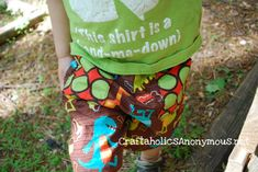 Yay! Shorts for little ones can be soooo overpriced. So glad someone posted an easy sewing tutorial on how to make our own!