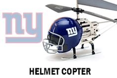 Helmet Helicopter with LED NFL Logo Projector by Sports Logo Lights - New York Giants. Find your team @ ReadyGolf.com